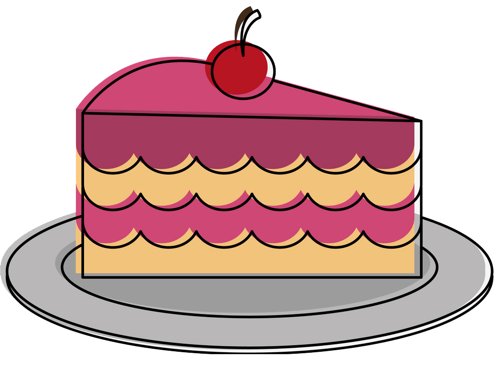 Cake clipart transparent 1