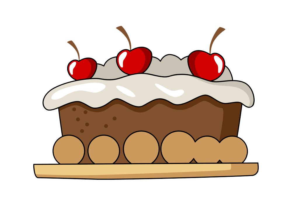 Cake clipart transparent 2