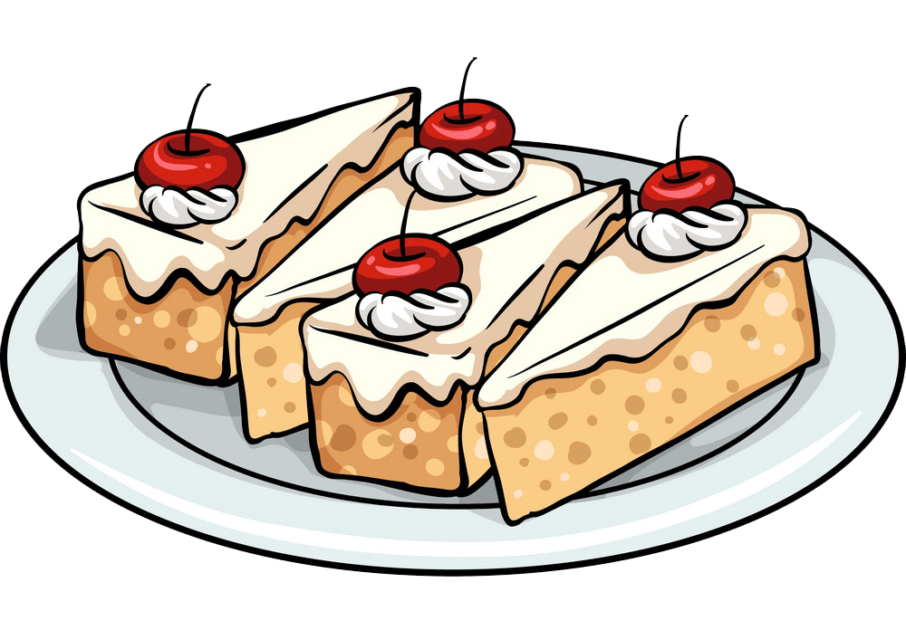 Cakes clipart transparent 1