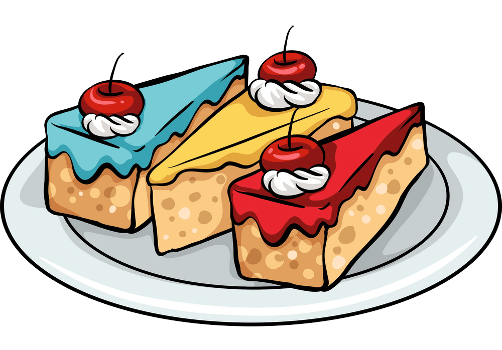 Cakes clipart transparent