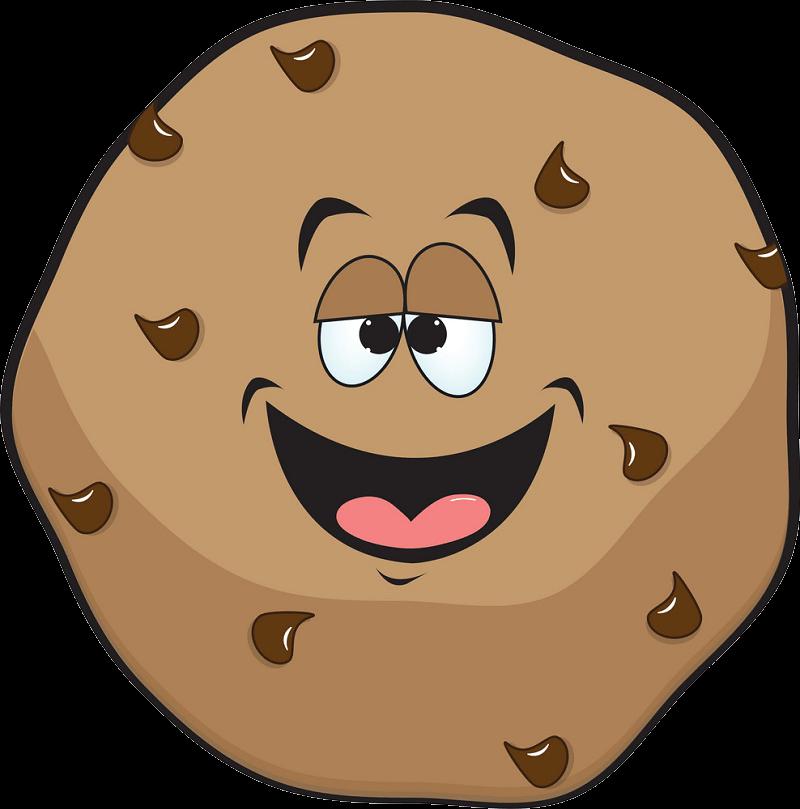 Cartoon Cookie clipart transparent