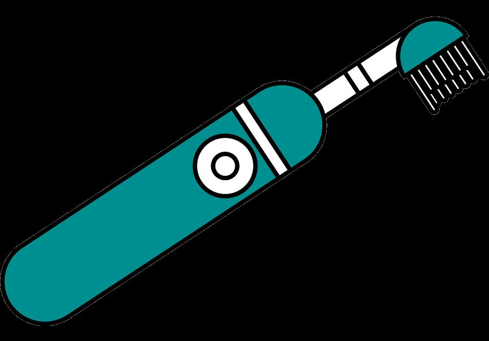 Cartoon Toothbrush clipart transparent 1
