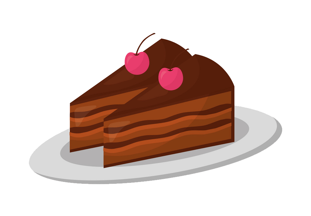 Chocolate Cakes clipart transparent