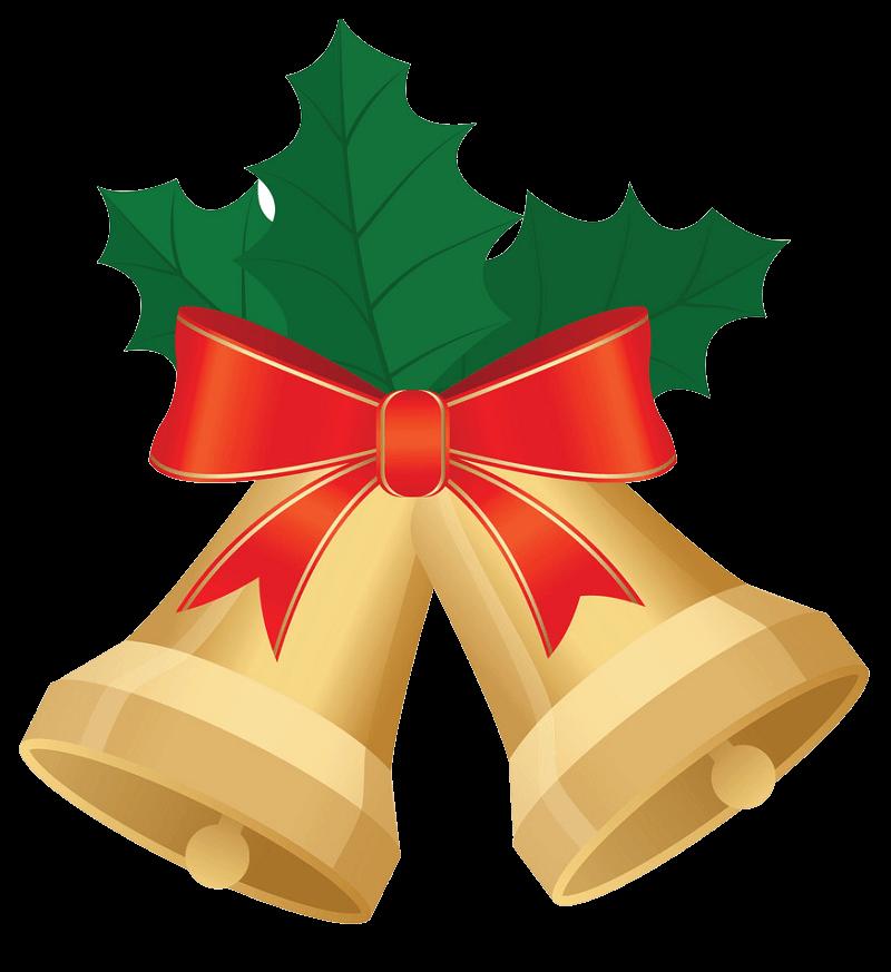 Christmas Bells clipart transparent 2