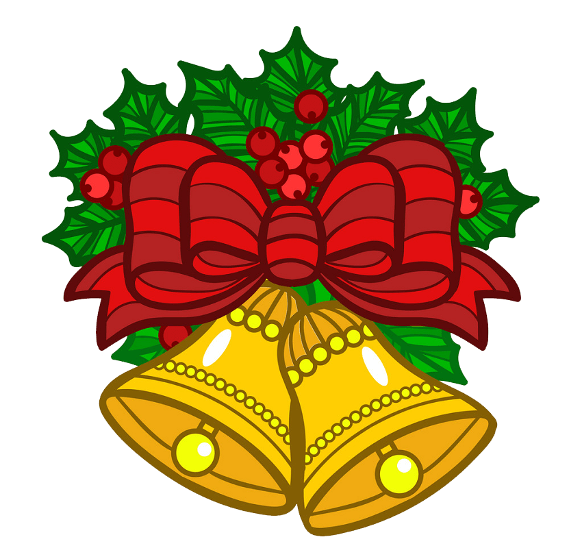 Christmas Bells clipart transparent 3
