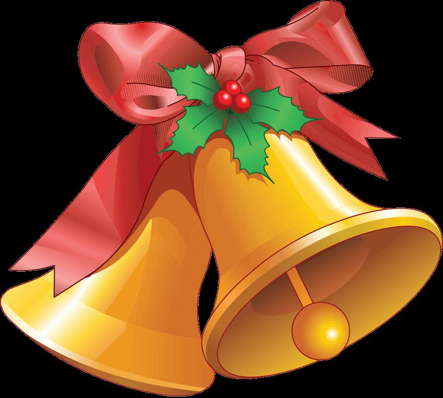 Christmas Bells clipart transparent