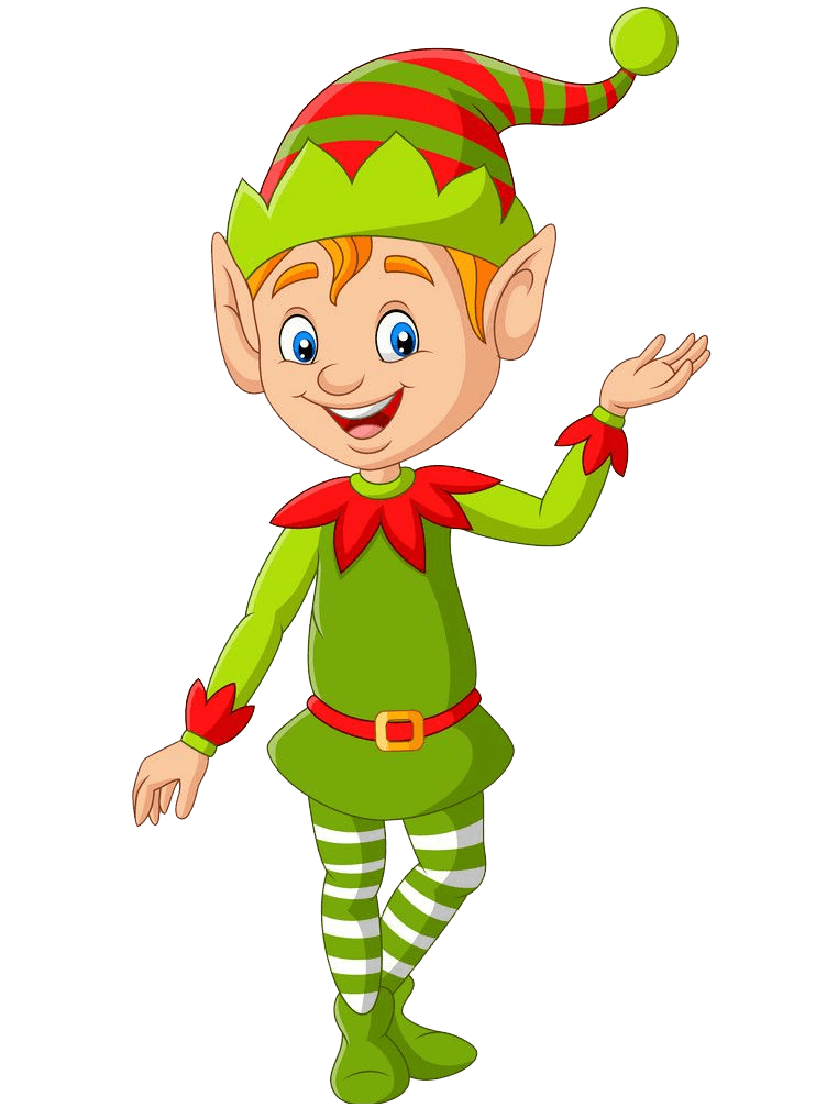 Christmas Elf clipart transparent 1