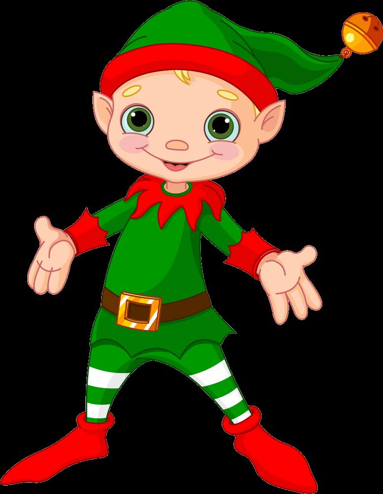 Christmas Elf clipart transparent