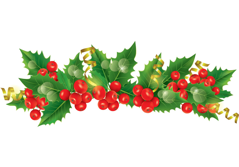 Christmas Garland clipart 1