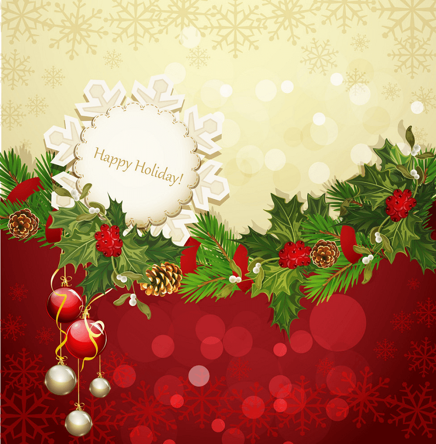 Christmas Garland clipart 10