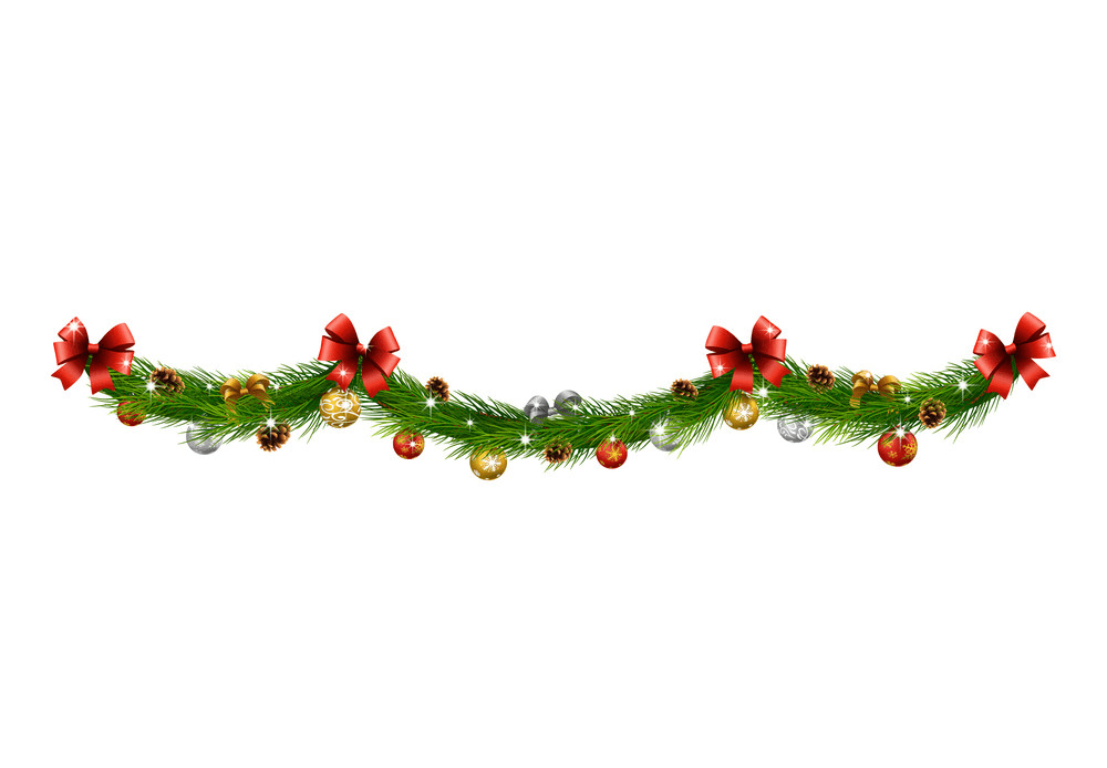 Christmas Garland clipart 3