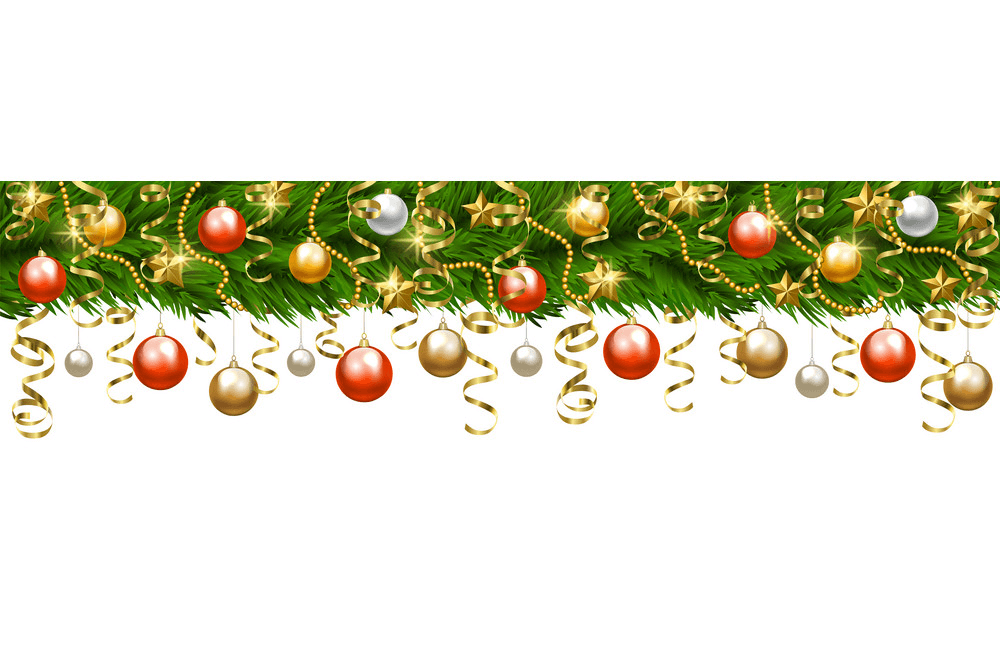 Christmas Garland clipart 5
