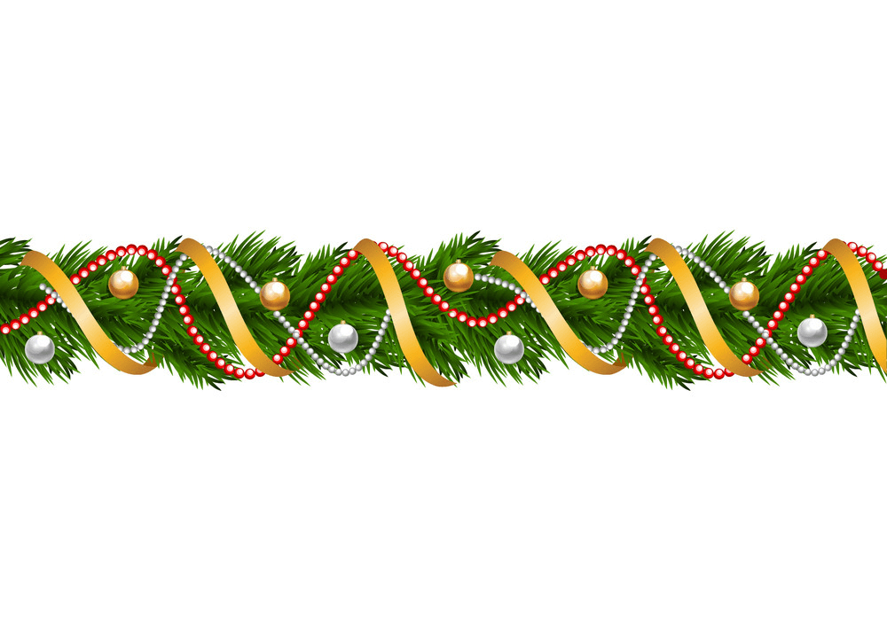 Christmas Garland clipart 6