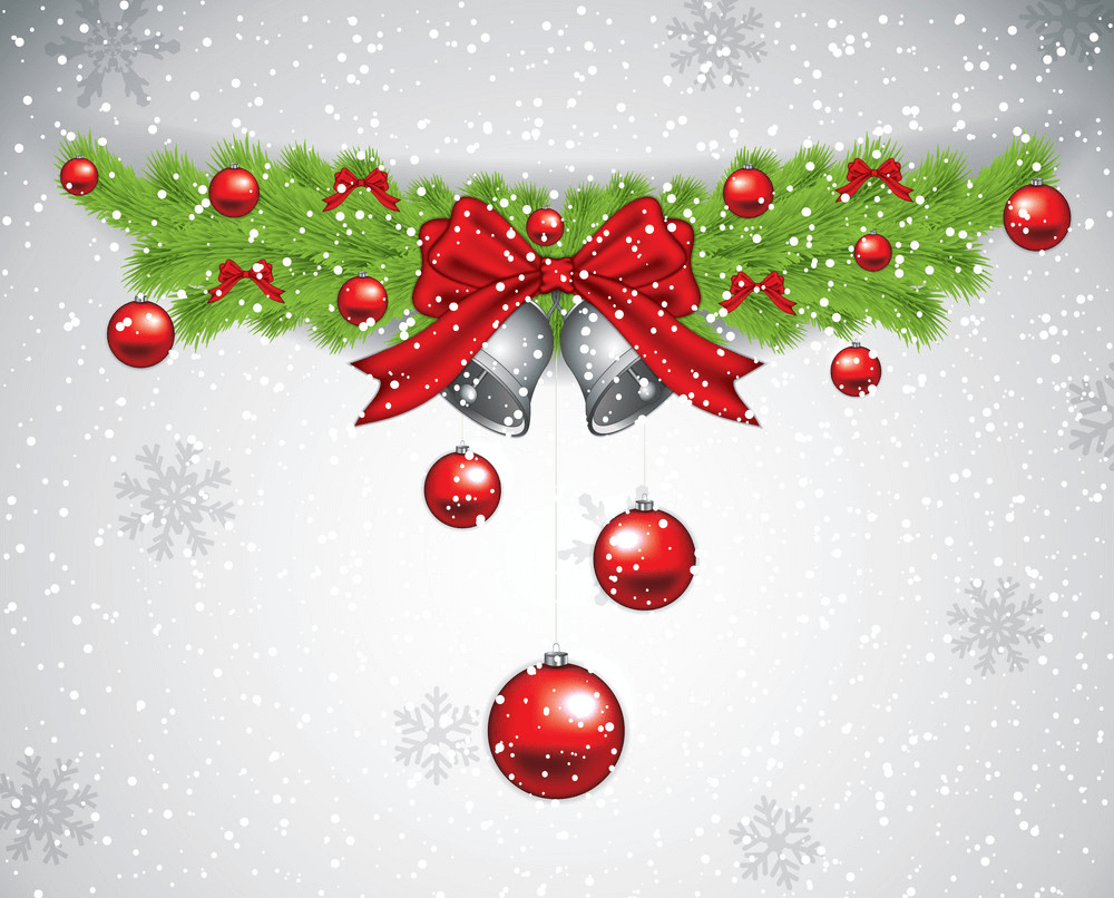 Christmas Garland clipart 9