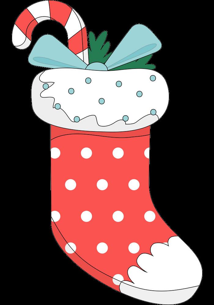 Christmas Stocking clipart transparent