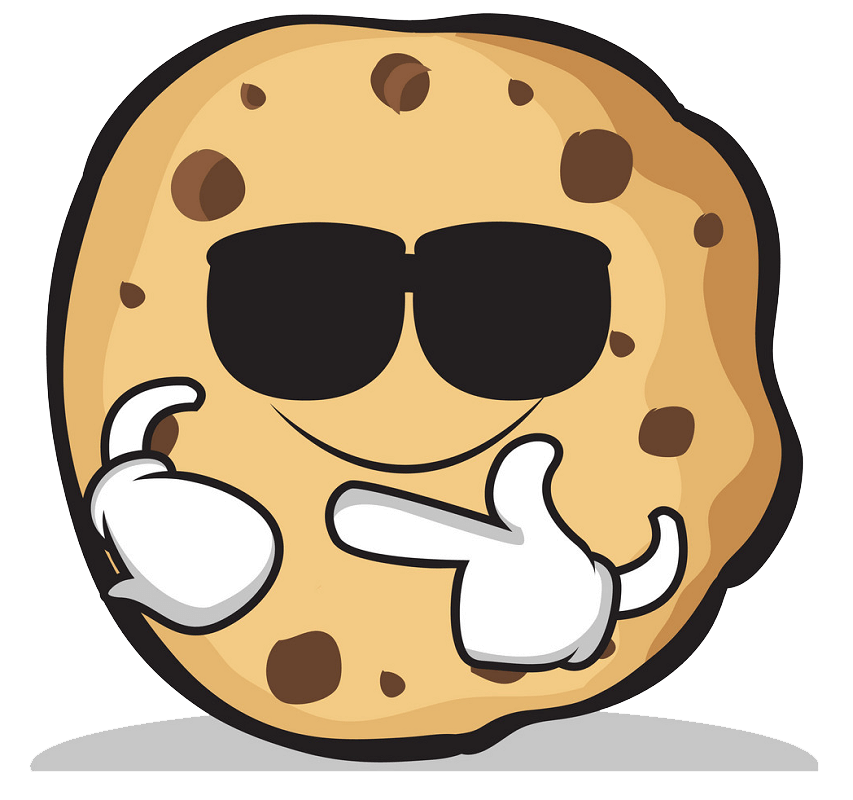 Cool Cookie clipart transparent