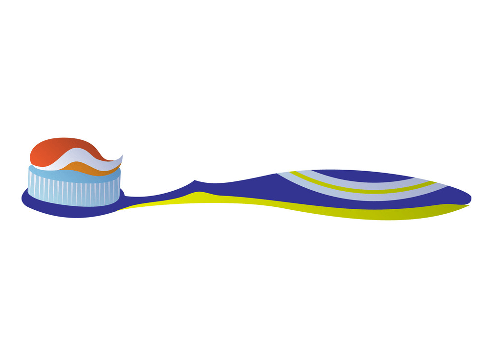 Cute Toothbrush clipart