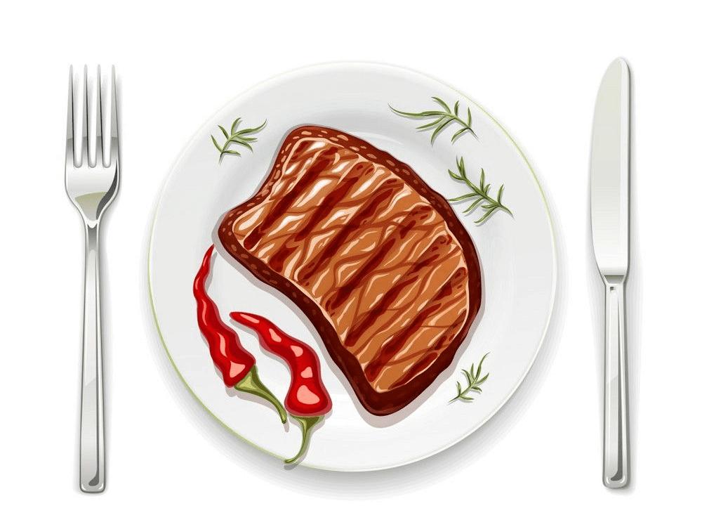 Delicious Steak clipart