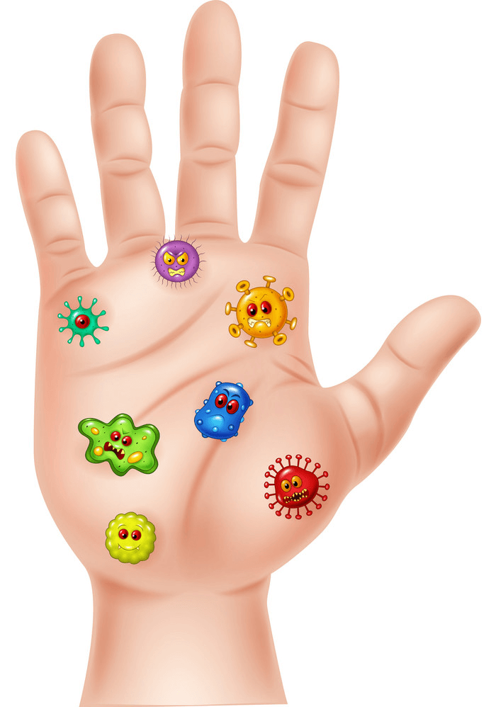 Dirty Hand clipart 1