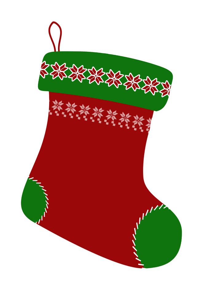 Empty Christmas Stocking clipart