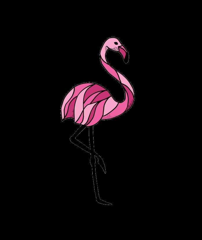 Flamingo clipart transparent 2