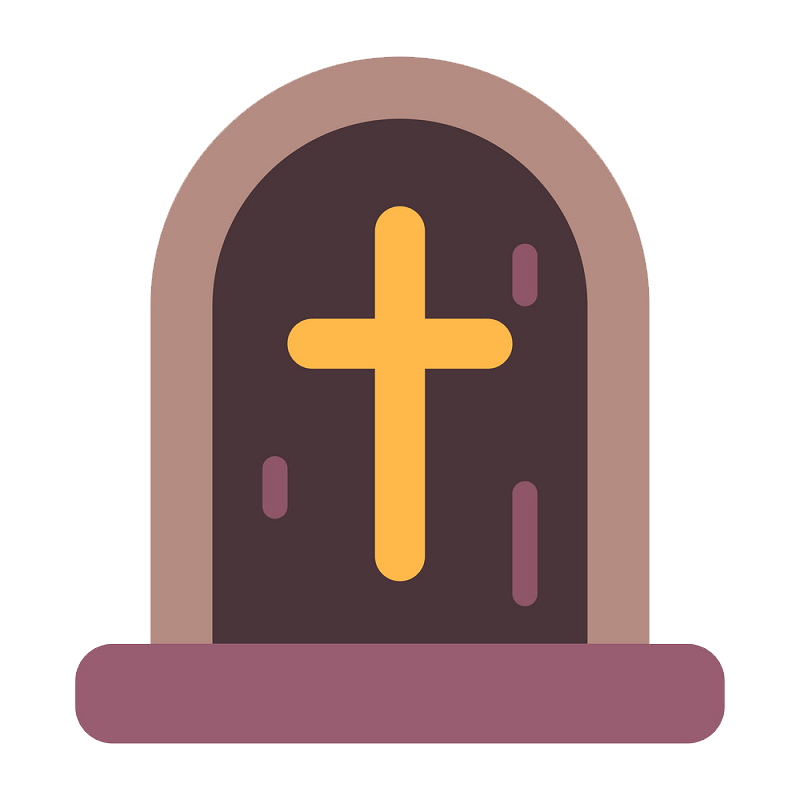 Flat Tombstone clipart transparent - Clipart World