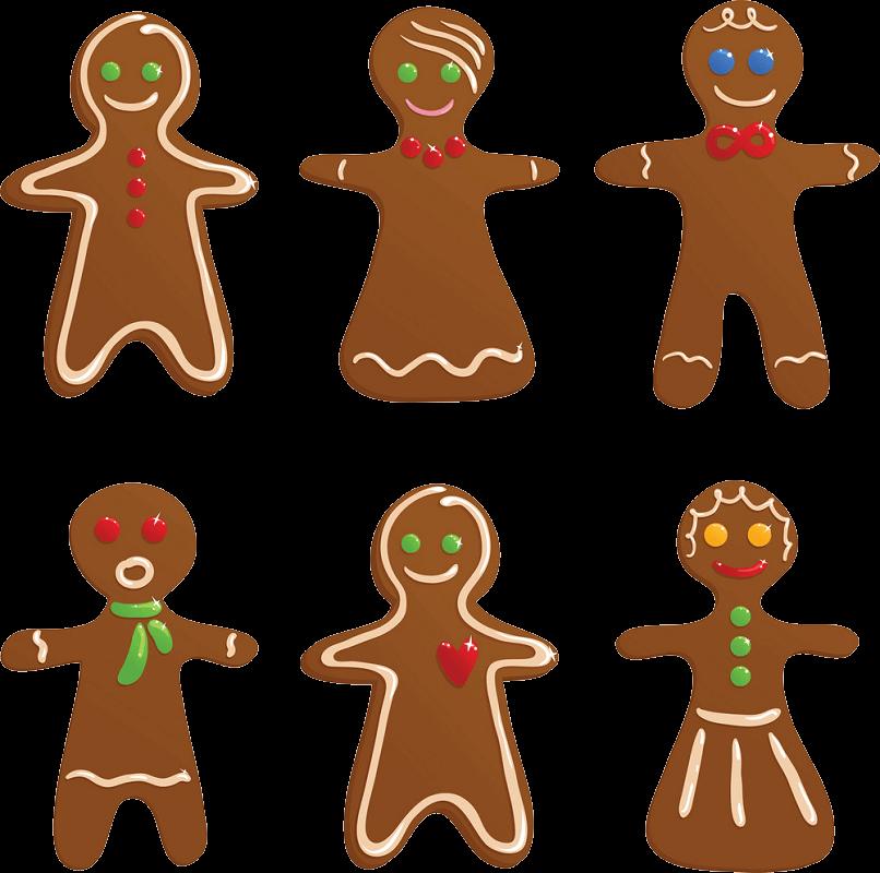 Gingerbread Cookies clipart transparent