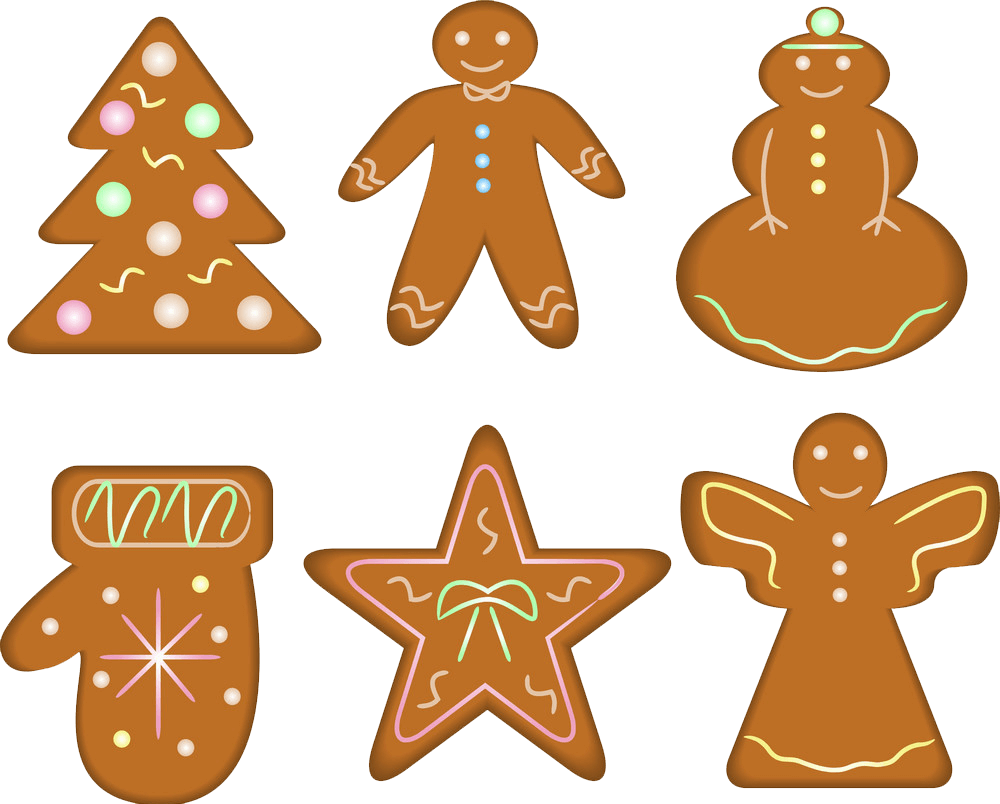 Gingerbread Cookies transparent