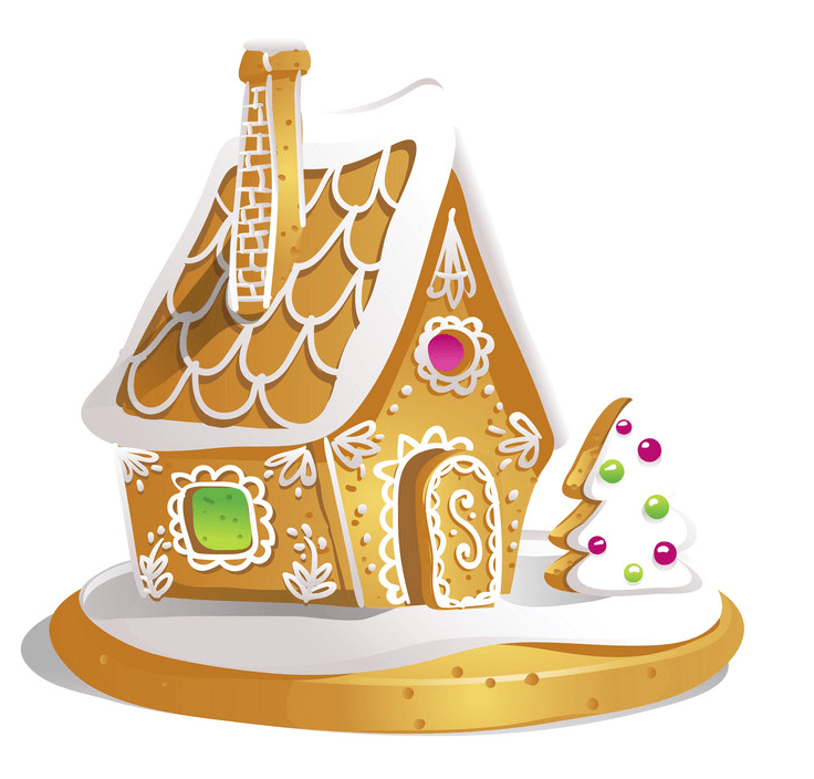 Gingerbread House clipart 2