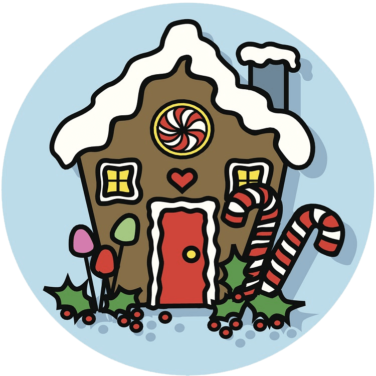 Gingerbread House clipart transparent 2
