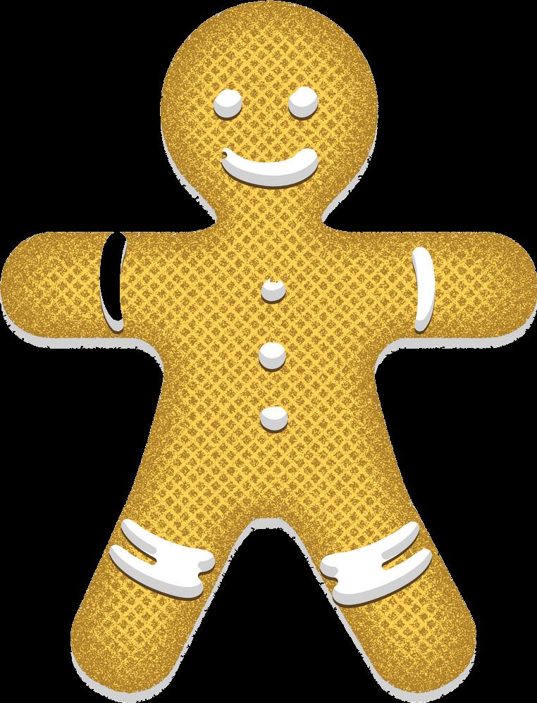Gingerbread Man transparent