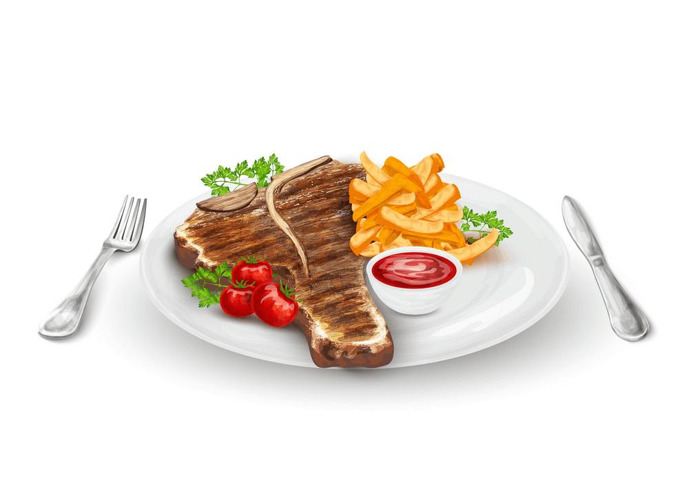 Grilled Steak clipart