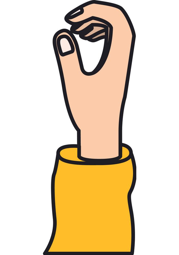 Hand clipart 4
