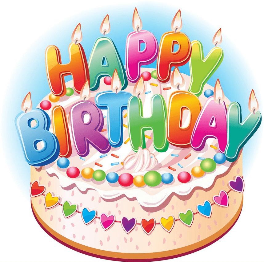 Happy Birthday Cake clipart 3