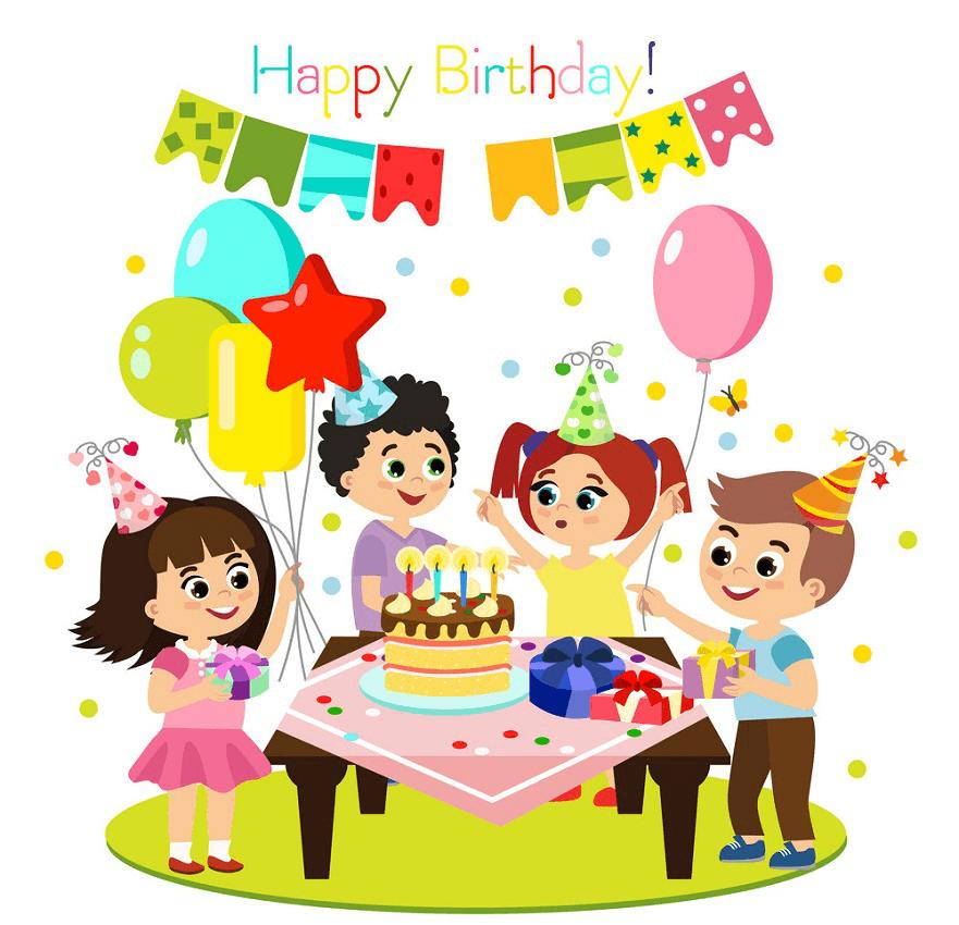 Happy Birthday Party clipart 1