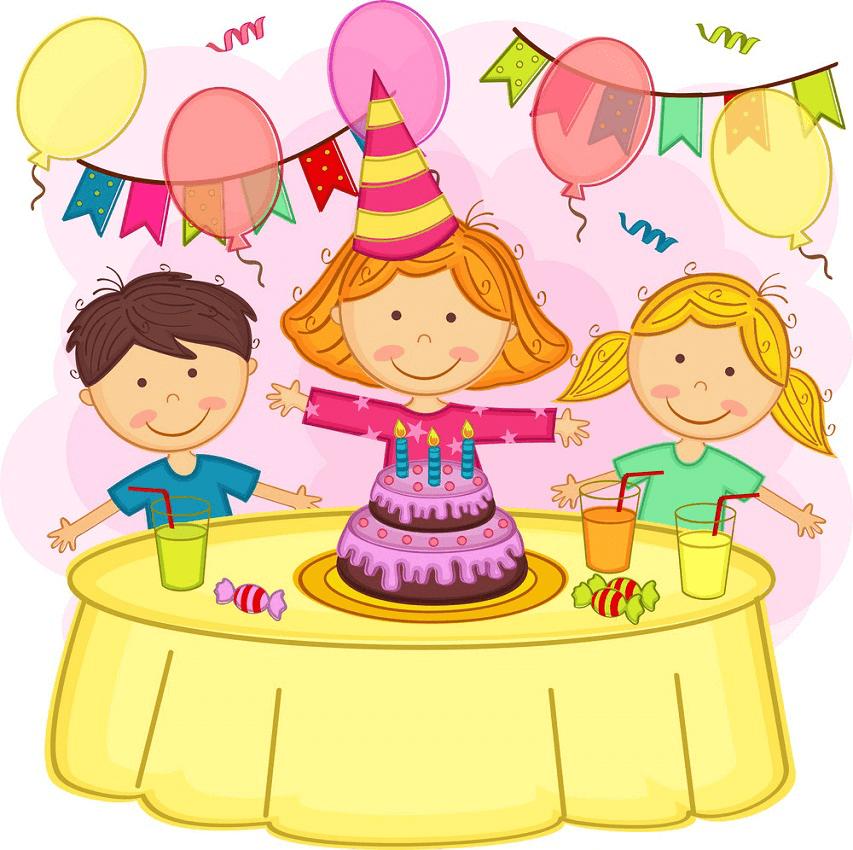 Happy Birthday Party clipart 2