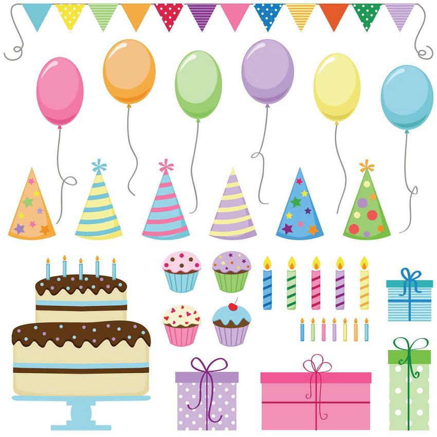 Happy Birthday clipart 12