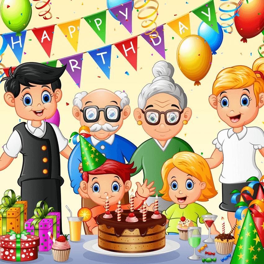 Happy Birthday clipart 8