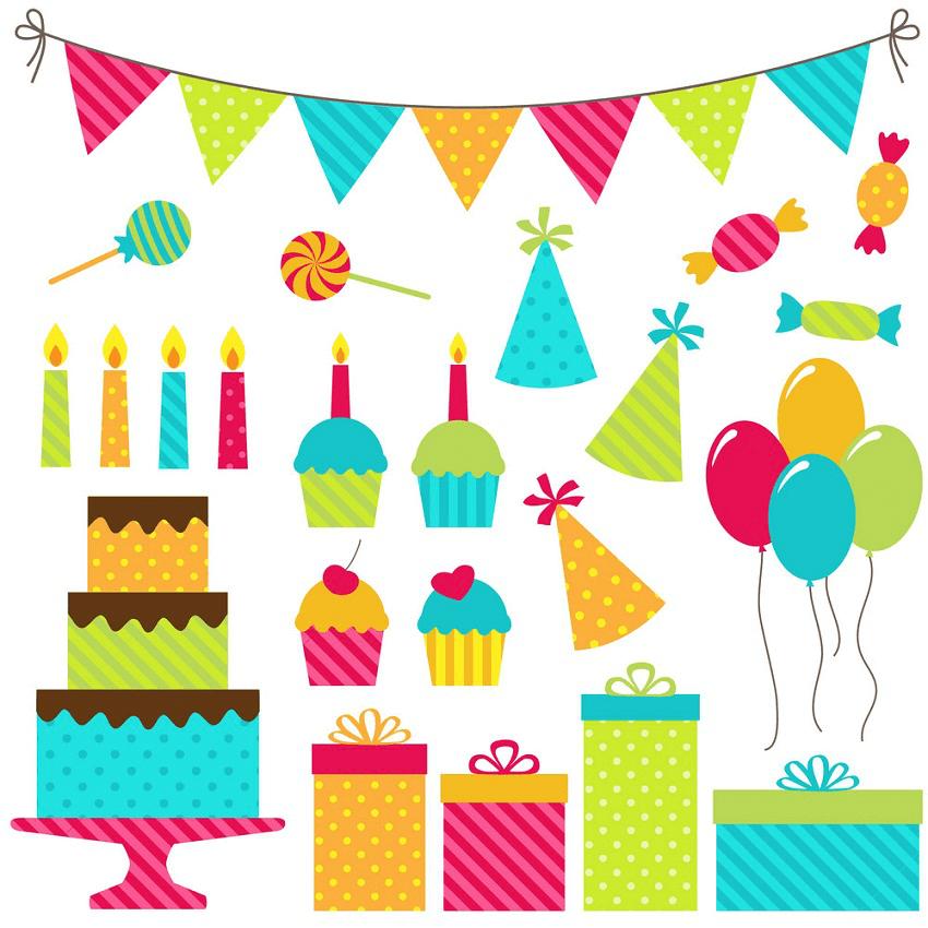 Happy Birthday clipart 9