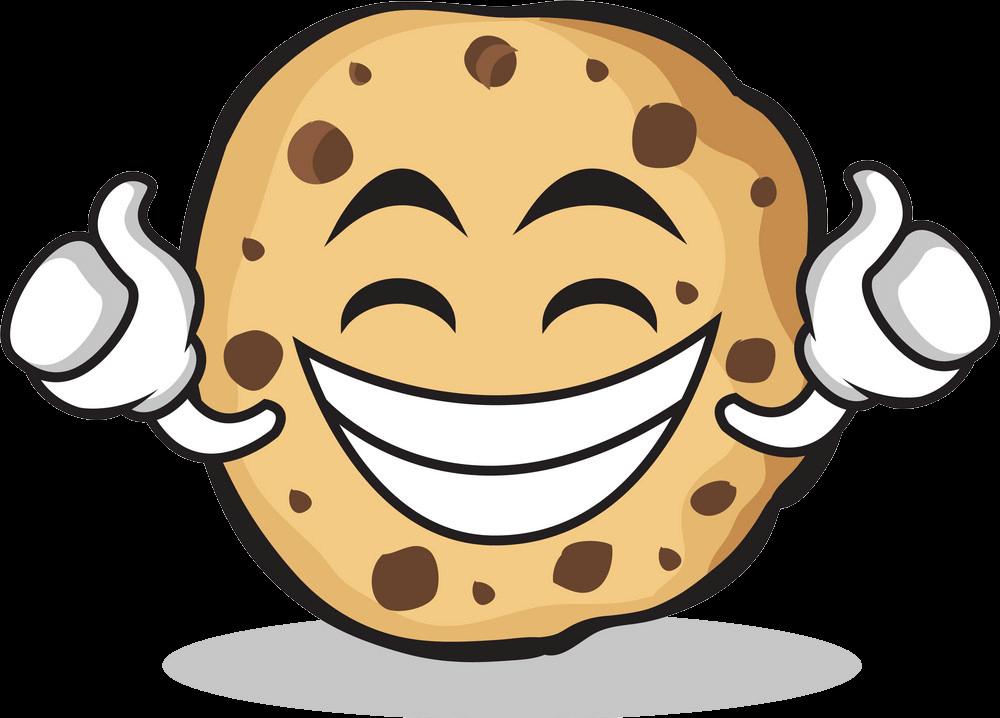 Happy Cookie clipart transparent