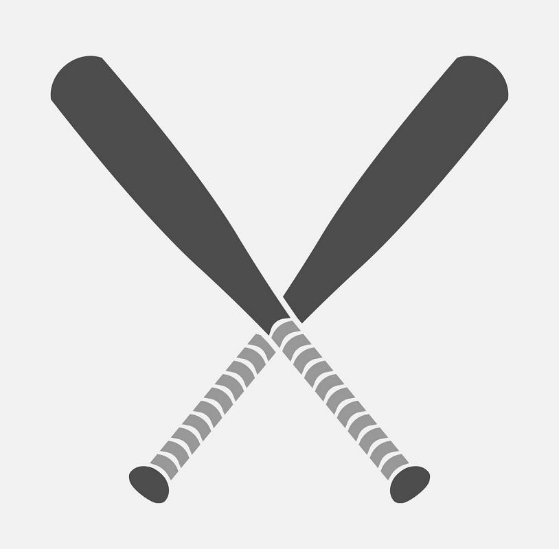 Icon Baseball bats clipart