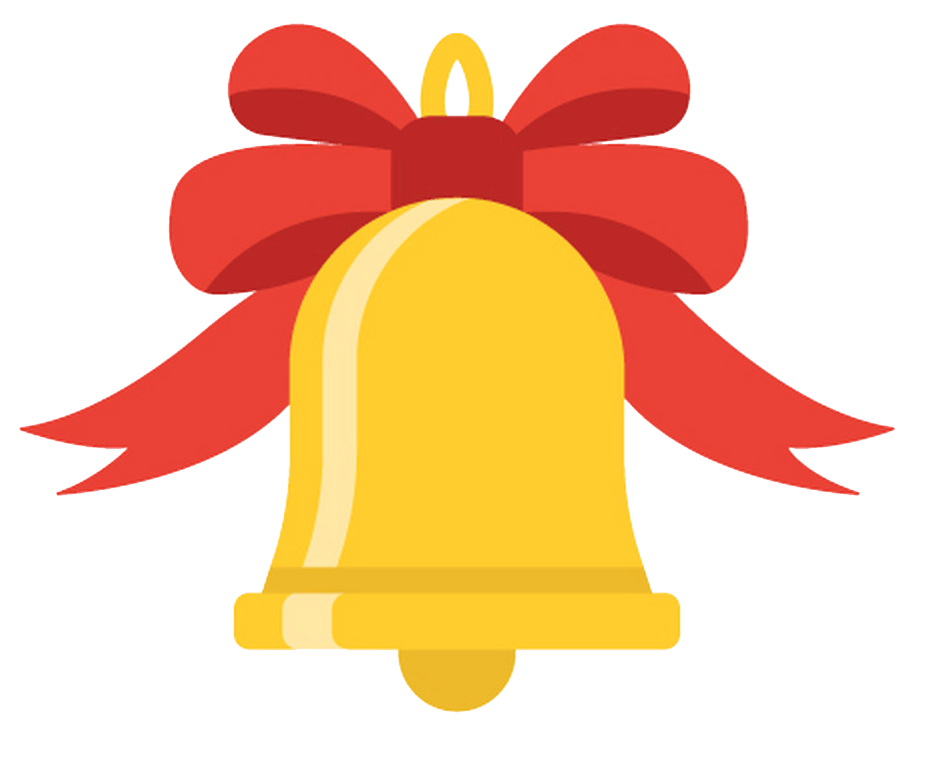 Icon Christmas Bells transparent