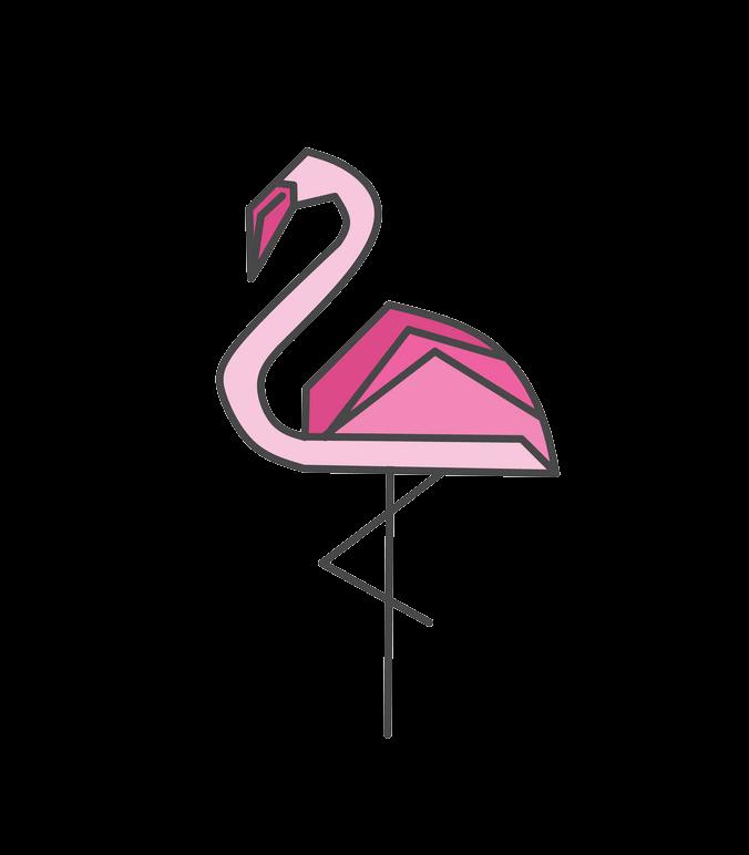 Icon Flamingo clipart transparent