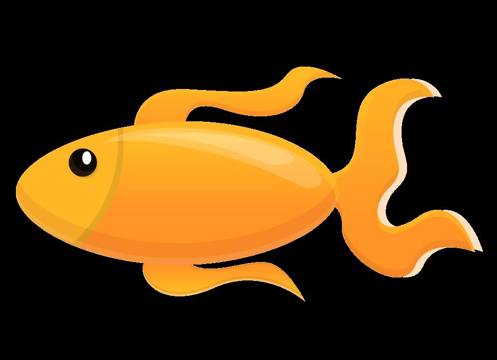 Icon Goldfish clipart transparent