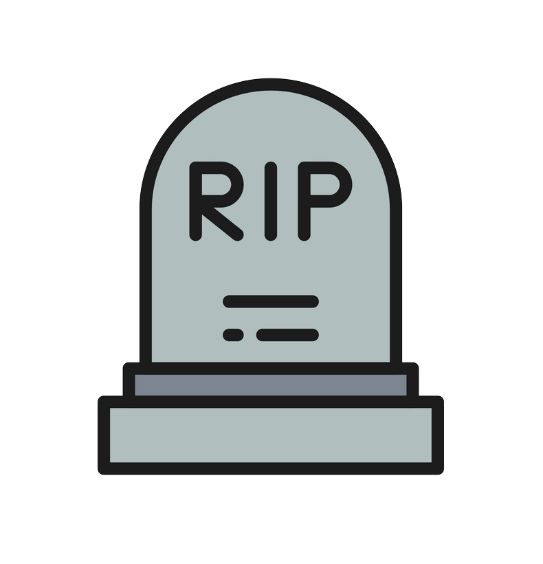 Icon Tombstone clipart transparent
