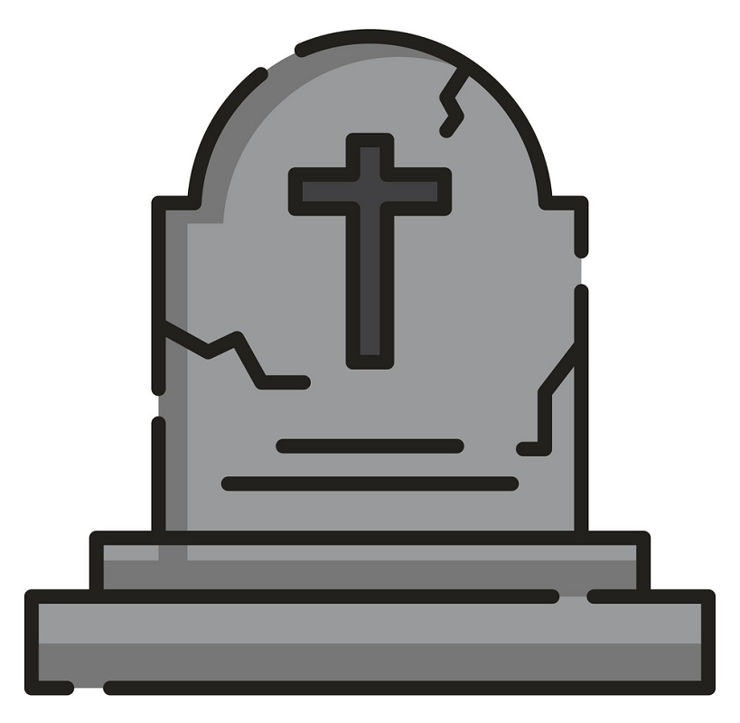 Icon Tombstone clipart