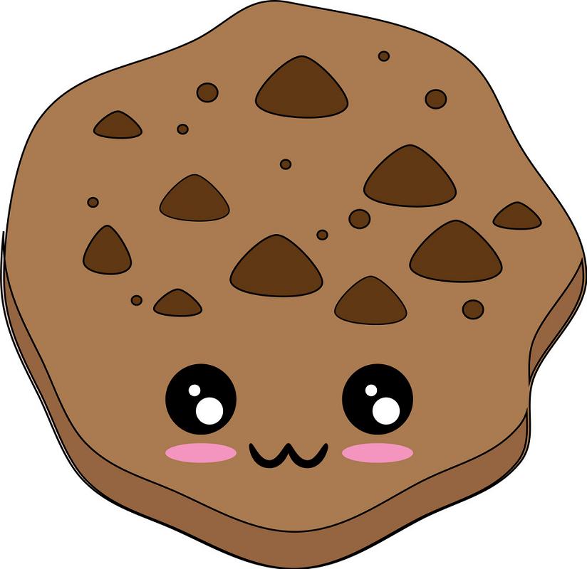 Kawaii Cookie clipart