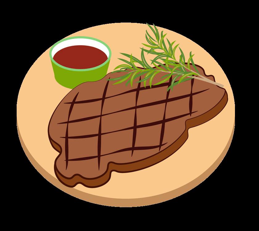 Meat Steak clipart transparent