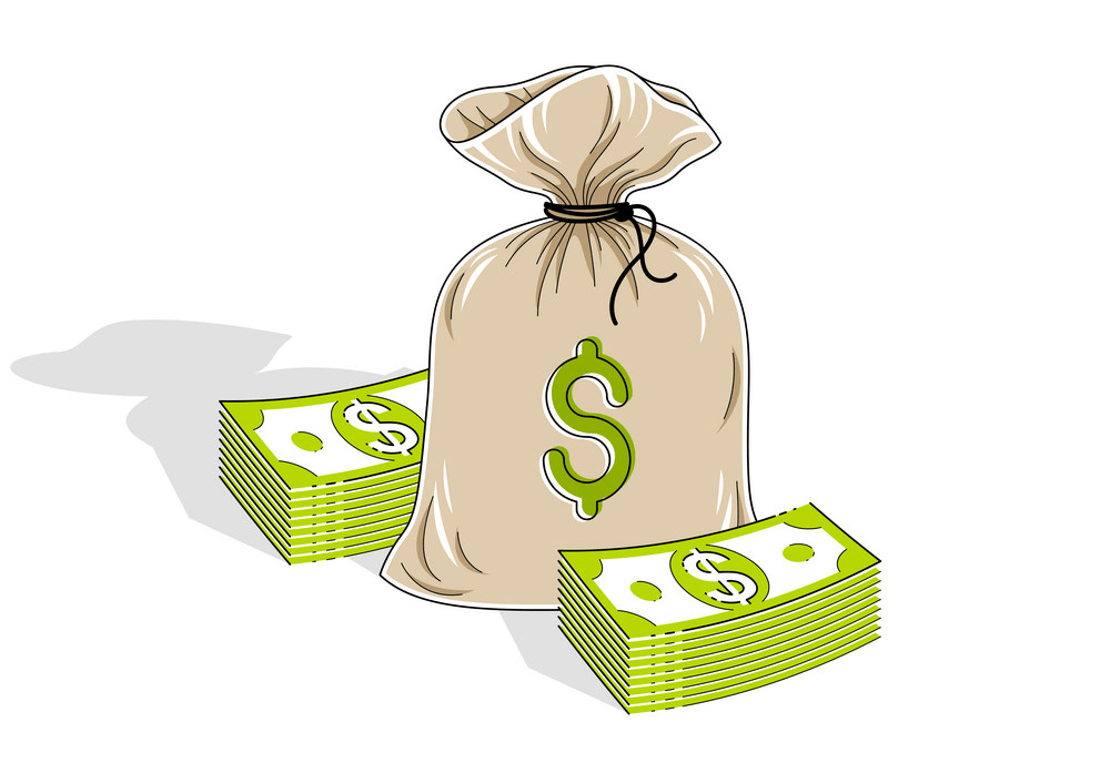 Money Bag Clipart