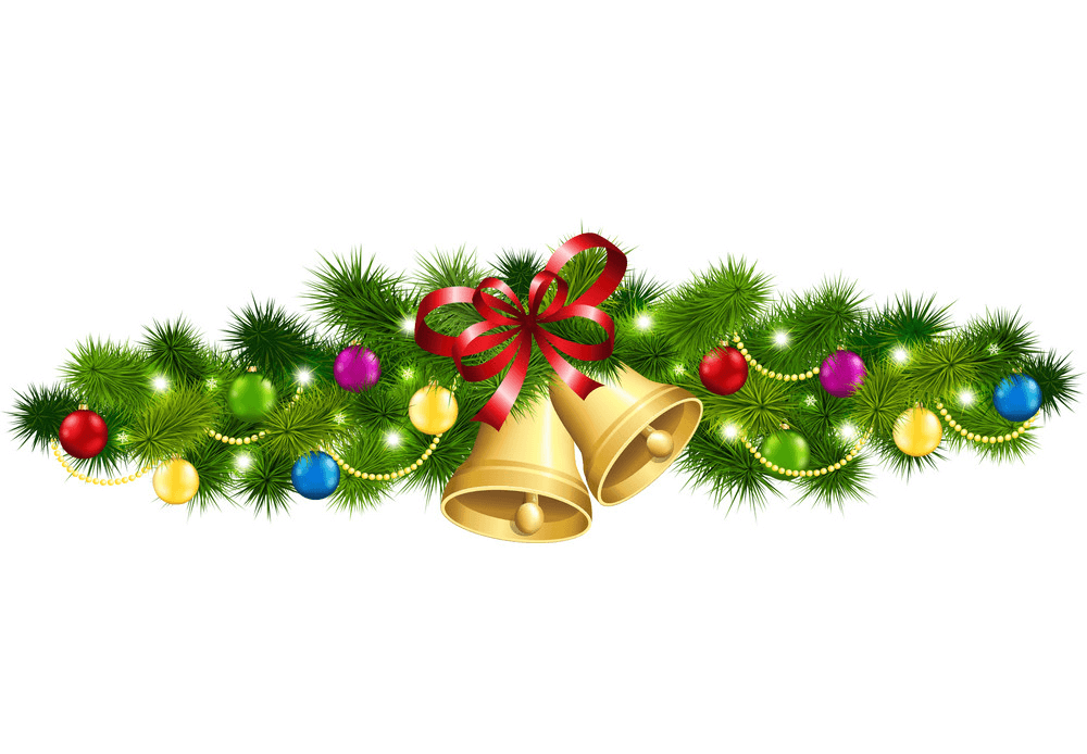Nice Christmas Garland clipart 1